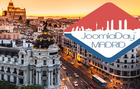 Joomla Day Madrid Banner